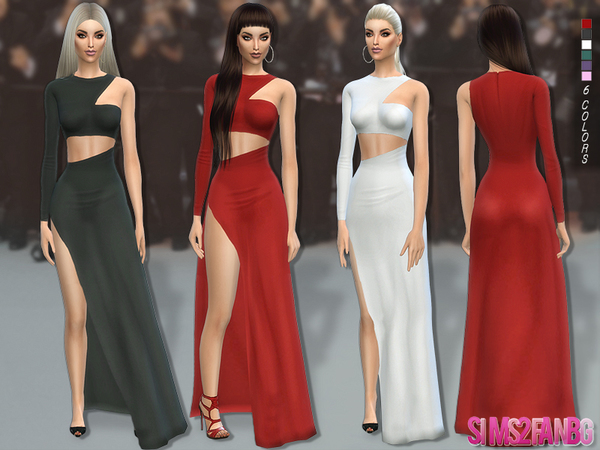 113 - Desislava dress by sims2fanbg
