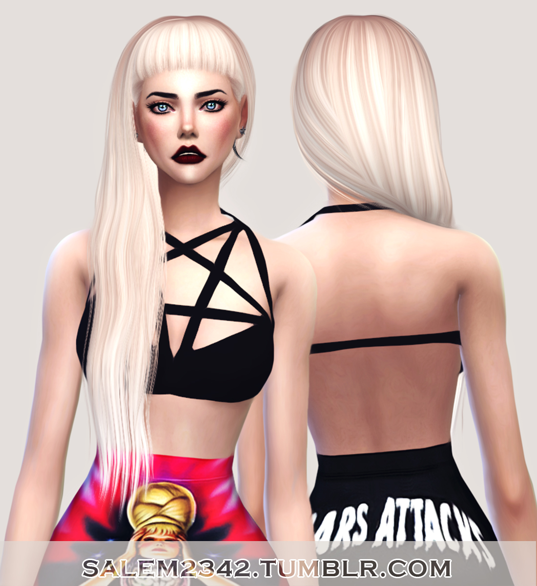 salem2342 Anto Hair Nocturnal Retexture (TS4)