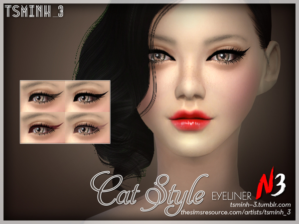 Cat Style Eyeliner by tsminh_3