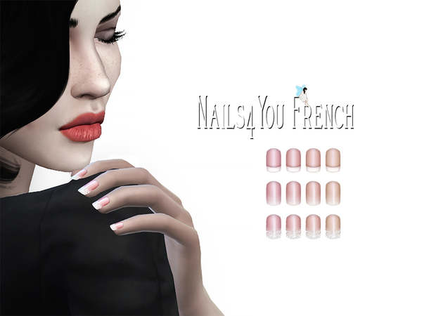 Nails4You French by Ms Blue