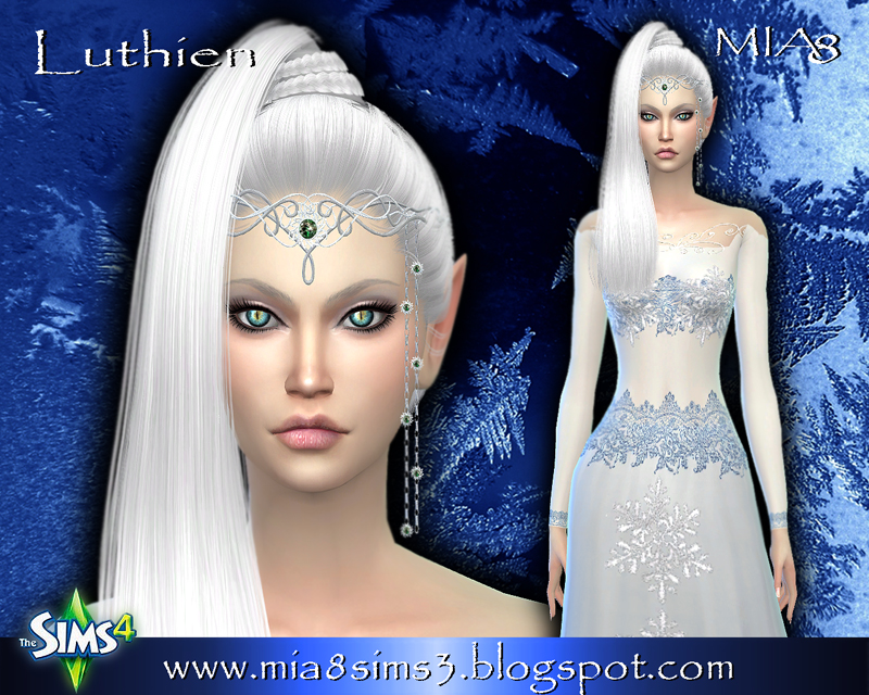 Luthien (elf) by Mia8