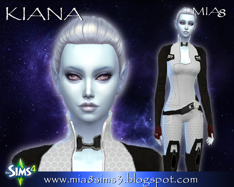 Kiana (alien) by Mia8