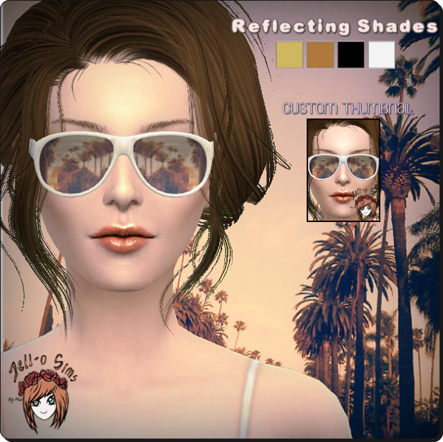 Reflective Shades by jell-o-sims