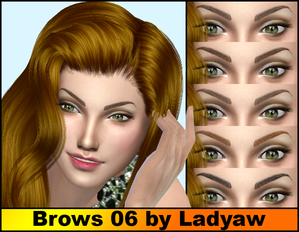Brows 06 by Ladyaw