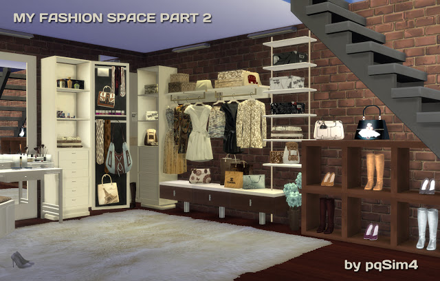 MY FASHION SPACE PART 2 (CLOTHES AND SHOES) BY MARY JIMNEZ by  PQSIMS4