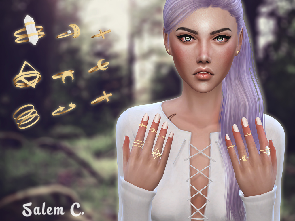 Rings and Fingernails by SalemC