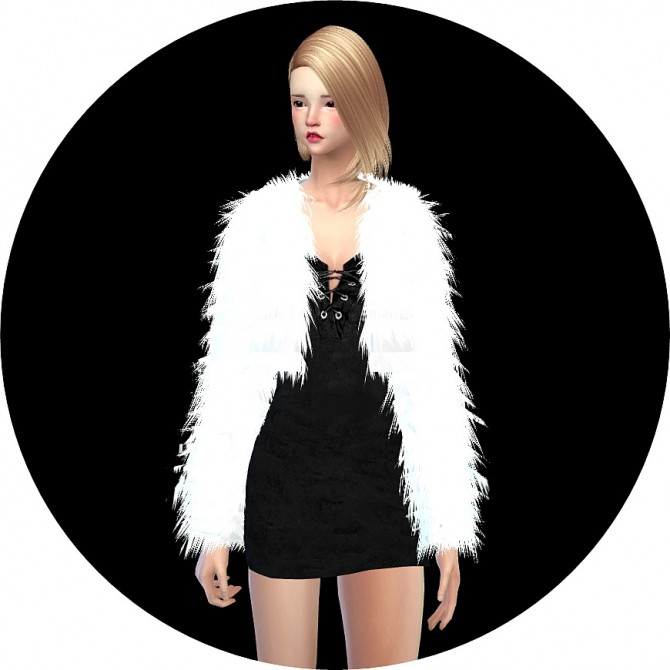 ACC FUR JACKET By MARIGOLD