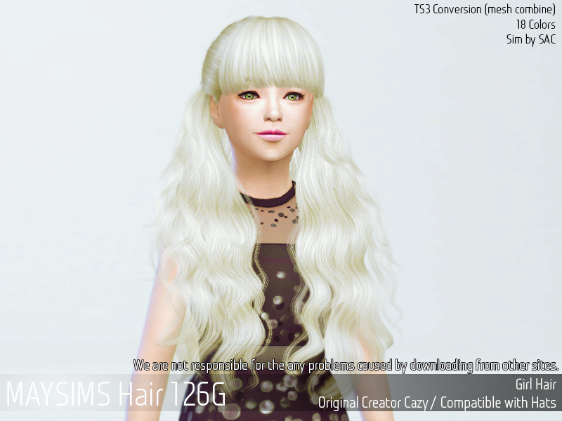 May_TS4 Hair126G