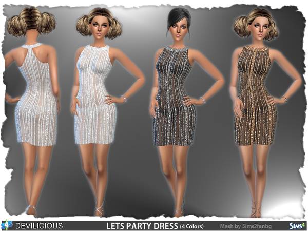 Let's Party Dress by Devilicious