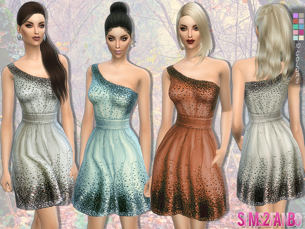 115 - Cocktail dress by sims2fanbg