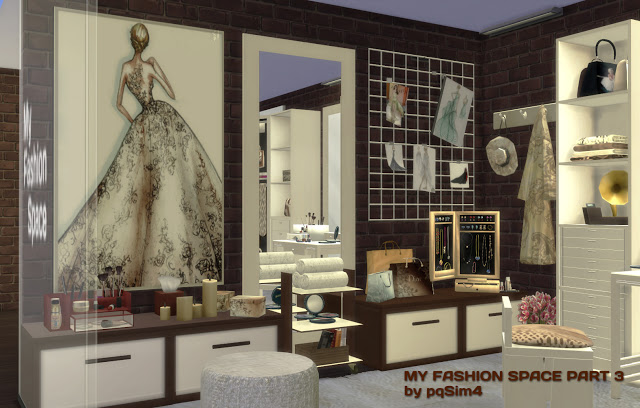 MY FASHION SPACE PART 3 BY MARY JIMNEZ by PQSIMS4