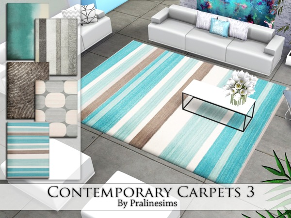 Contemporary Carpets 3 by Pralinesims