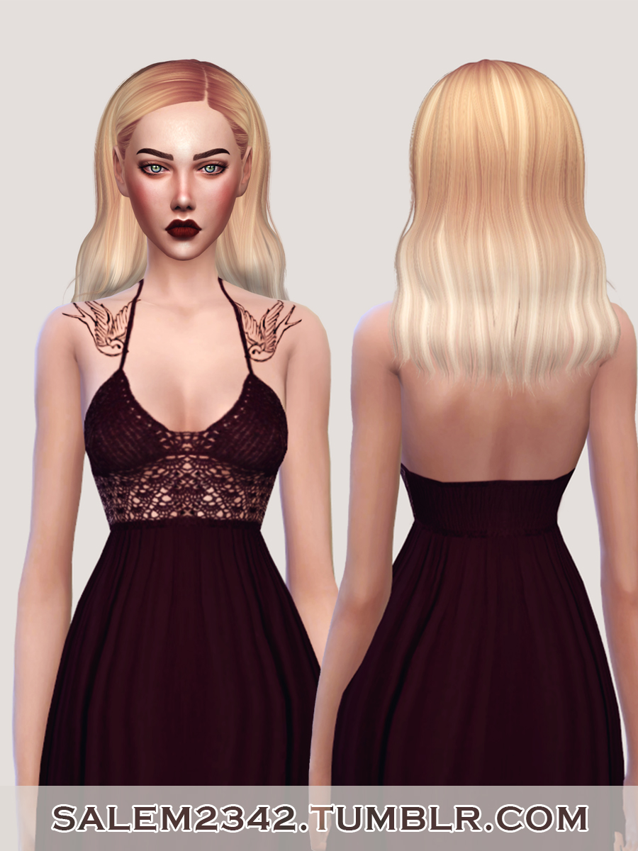 salem2342 Jakea H002 Tasty Hair Retexture (TS4)