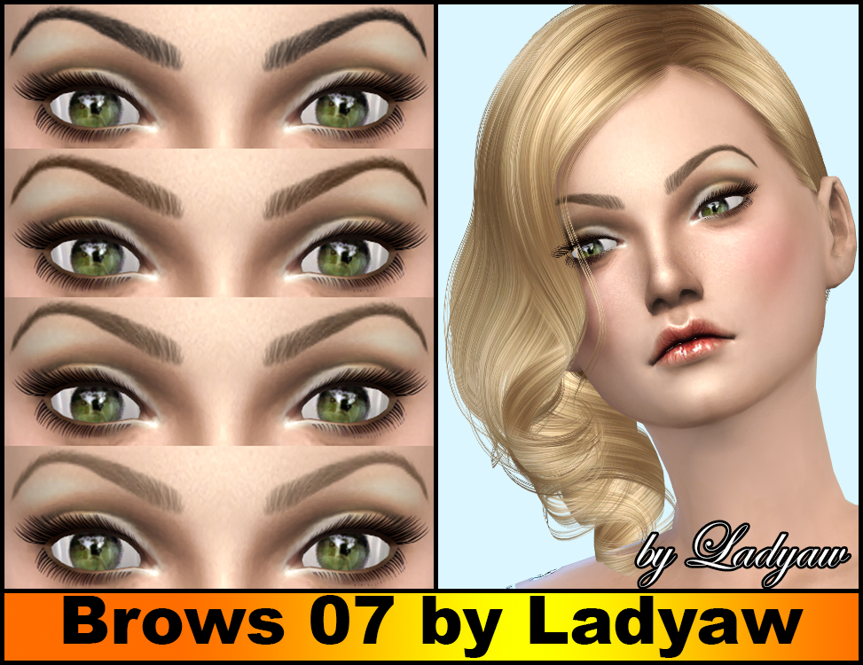 Brows 07 by Ladyaw