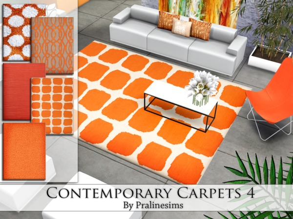 Contemporary Carpets 4 by Pralinesims