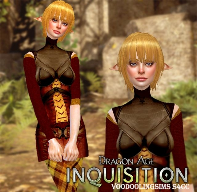 Dragon Age Inquisition Outfit for Females by VoodoolingSims