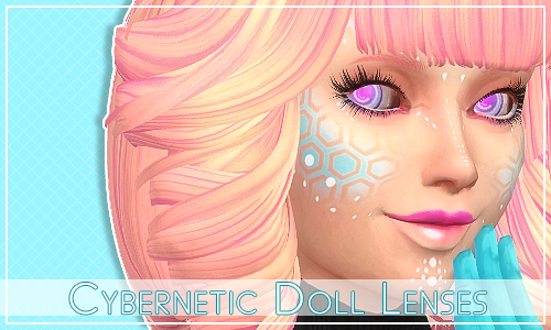 Cybernetic Doll Eyes by FloraFinale