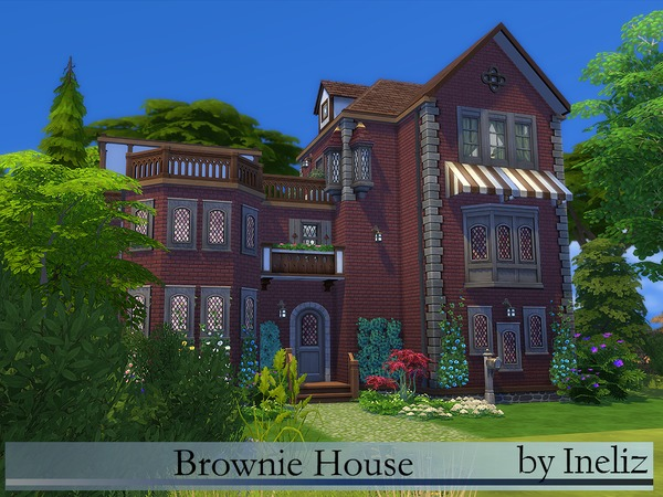 Brownie House by Ineliz