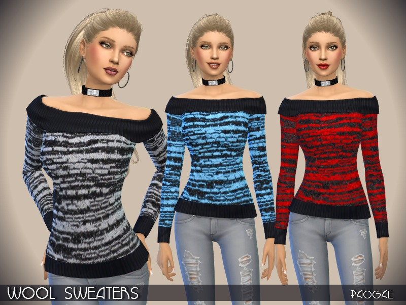 WoolSweaters BY Paogae