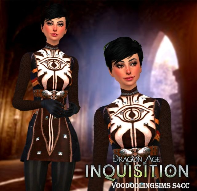 Dragon Age Inquisition Outfit for Females от VoodoolingSims