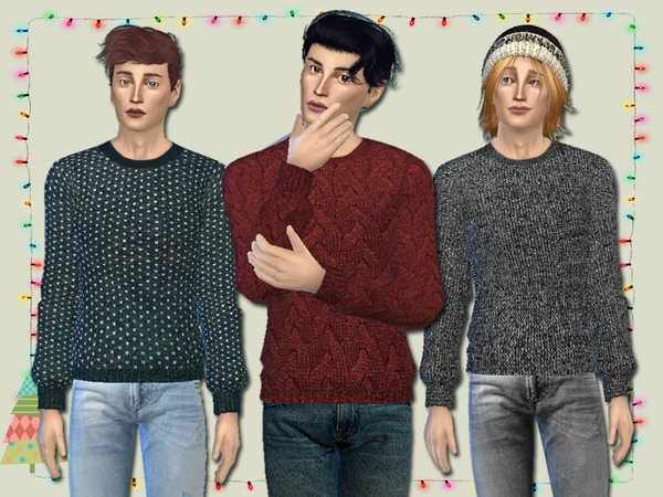Knit Jumpers for Him - Spa Day GP needed by Simlark