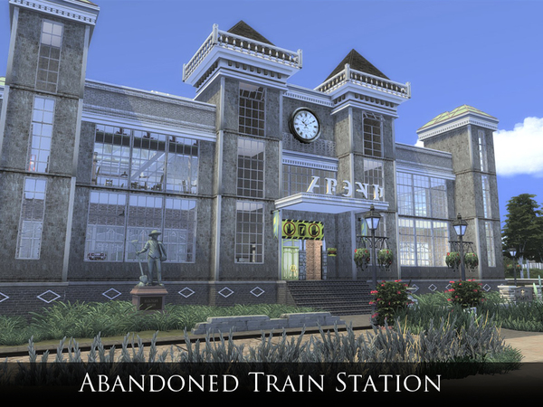 Abandoned Train Station Club by Schedels-Asylum