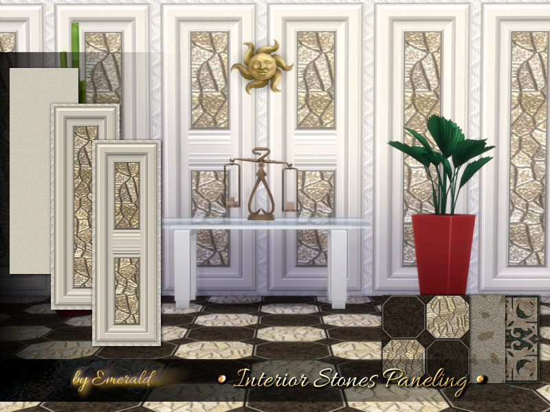 Interior Stones Paneling  BY emerald