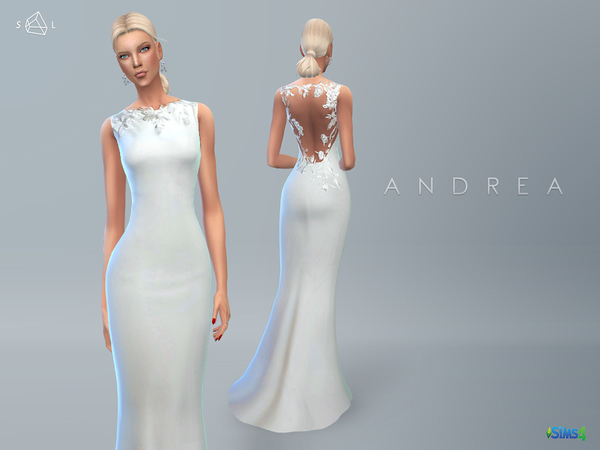 Wedding Dress ANDREA by starlord