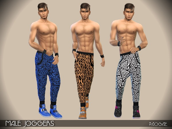 MaleJoggers by Paogae