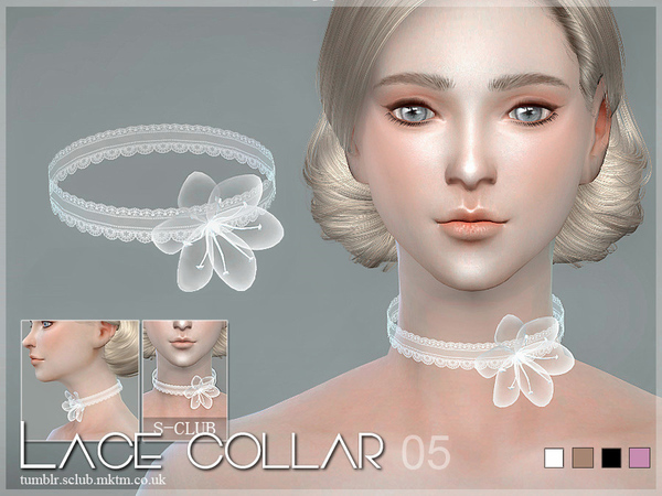 S-Club LL ts4 Lace collar 05
