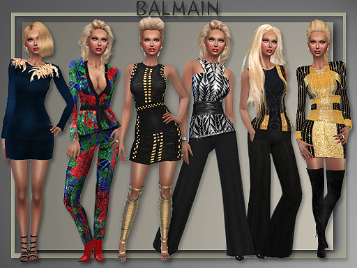 Balmain Holiday Party Outfits for Teen - Elder Females by Judie