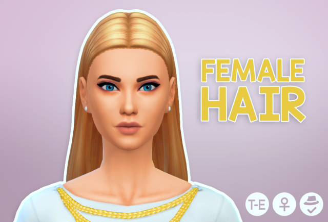 Queen Bee Hair Edit by PrimadonnaSims
