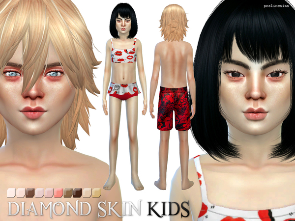 PS Diamond Skin KIDS by Pralinesims