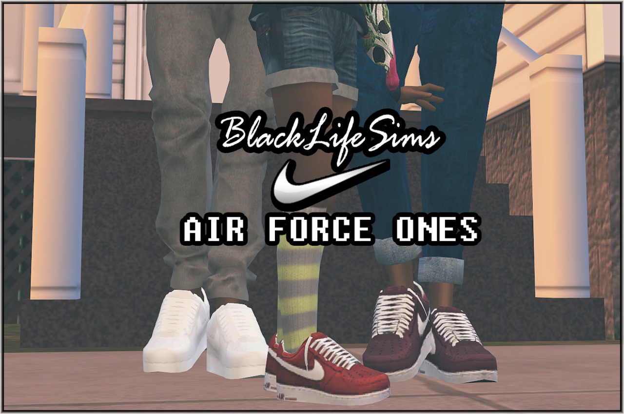 Air Force Ones in 8 Colors for Males and Females by BlvckLifeSimz