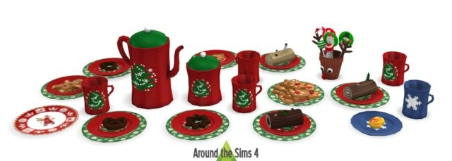Christmas Buffet Set by Sandy