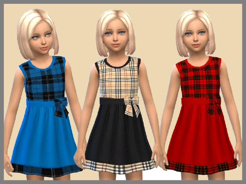 Tartan Girls Dresses BY SweetDreamsZzzzz