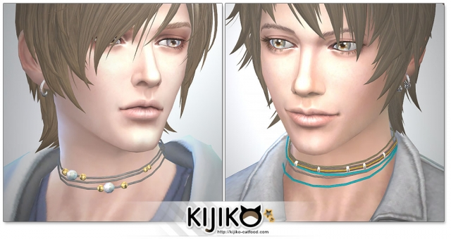 Mens Strap Chokers by Kijiko