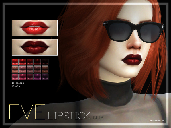 Eve Lipstick  N43 by Pralinesims