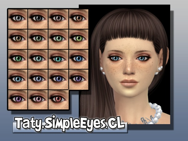 SimpleEyes_CL by tatygagg