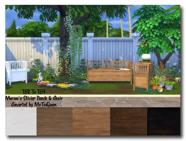TS2 To TS4 - Muranos Olivier by MsTeaQueen