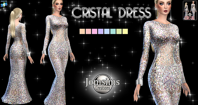 Cristal Dress by JomSims