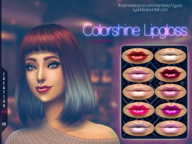 Colorshine Lipgloss by Vyuna