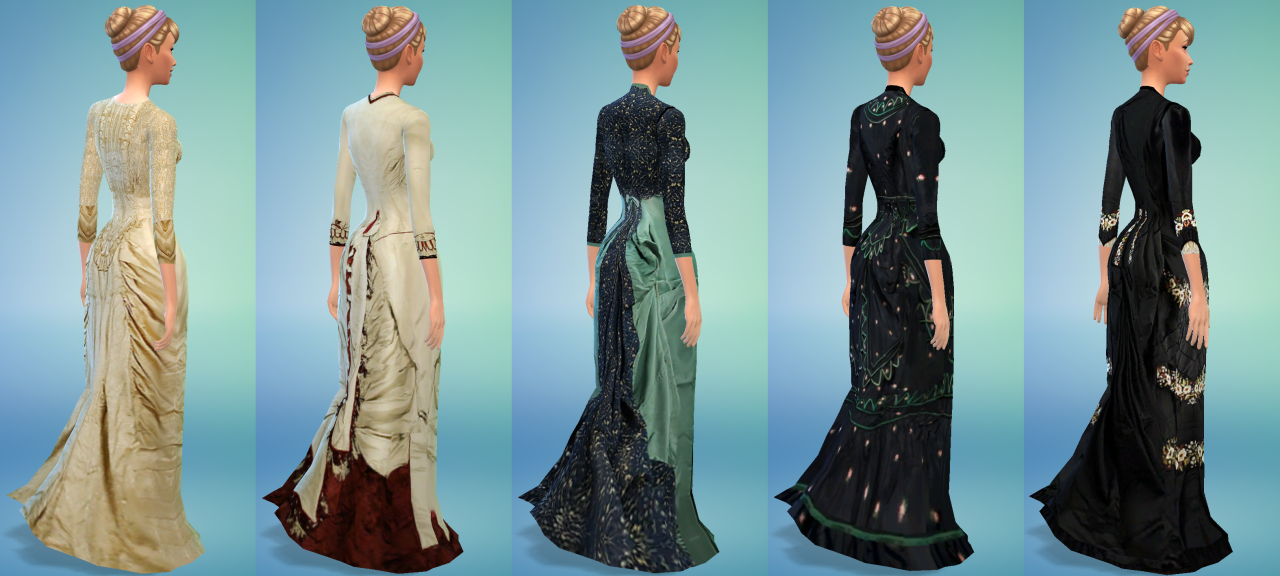 Victorian Fashion Collection by UnsinkableJoe