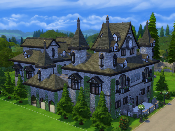 Windenburg Castle (No CC) by TatyanaName