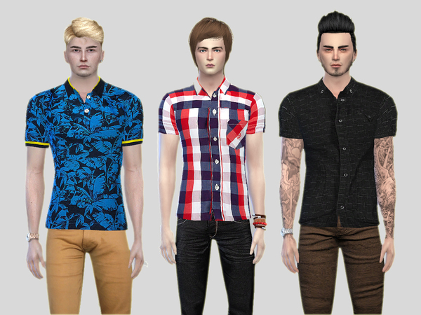 Party Polo Shirt Collection by McLayneSims