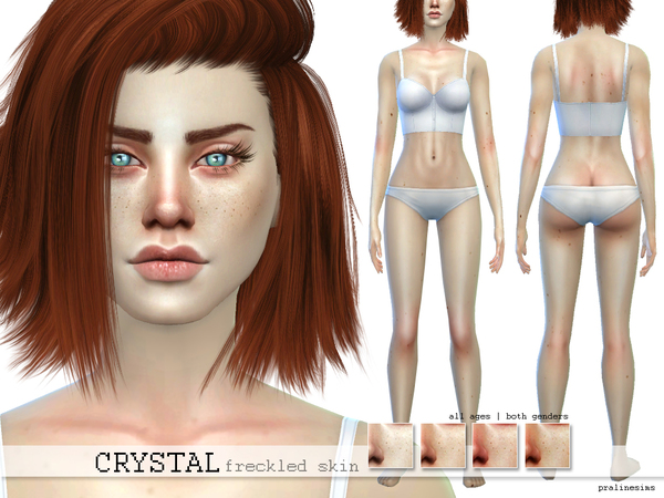 PS Crystal Freckled Skin by Pralinesims