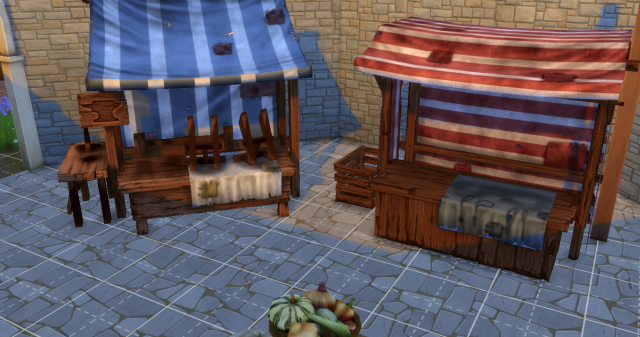 Medieval Market от Sims In The Woods