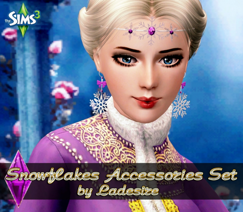 Snowflake Accessories by Ladesire