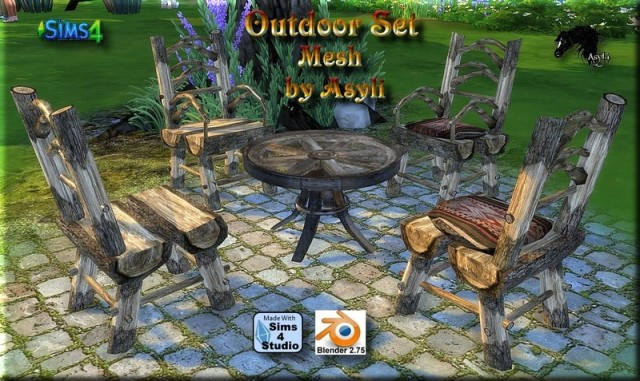 OutdoorSet by Asyli