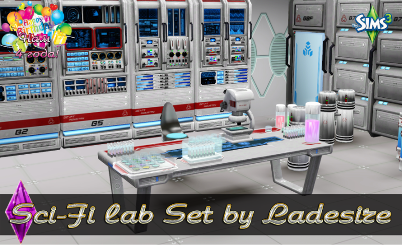 Sci-Fi Lab by Ladesire